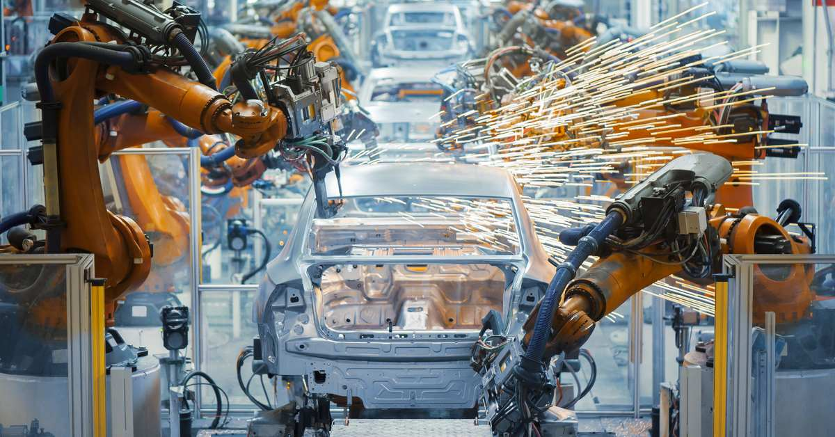 Accelerated automation working within the vehicle industry