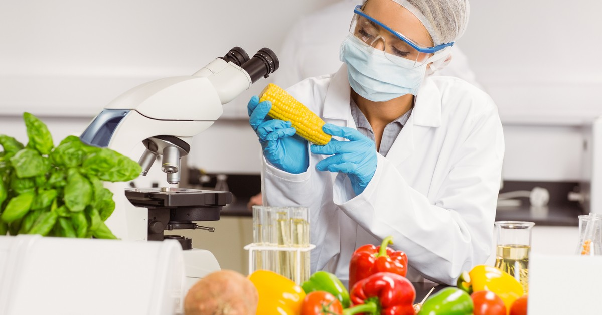 Nutritionist researching various food options